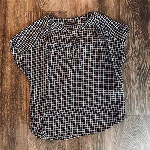 Banana Republic short sleeve blouse.